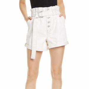 NWOT FREE PLEOPLE Cindy Utility Shorts